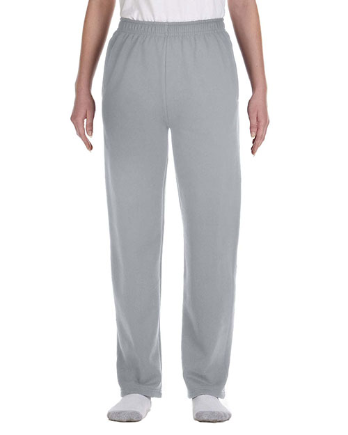 Jerzees 974Y Boys 8 Oz. 50/50 Nublend Open-Bottom Sweatpants at GotApparel