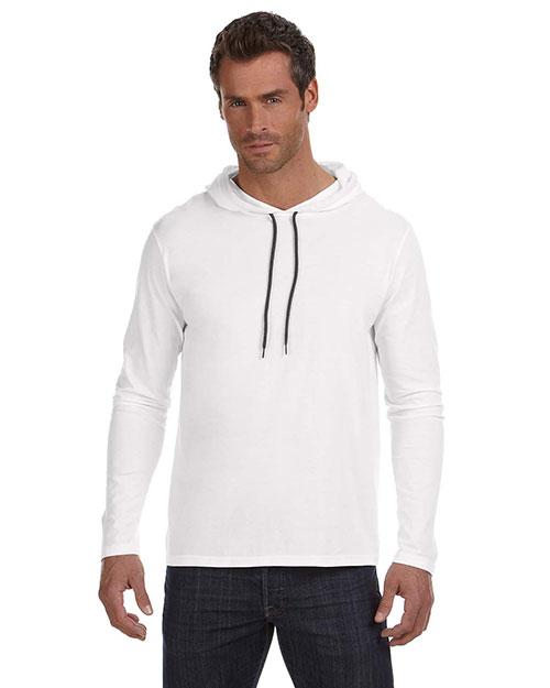 Anvil 987AN Adult Lightweight Long-Sleeve Hooded T-Shirt at GotApparel