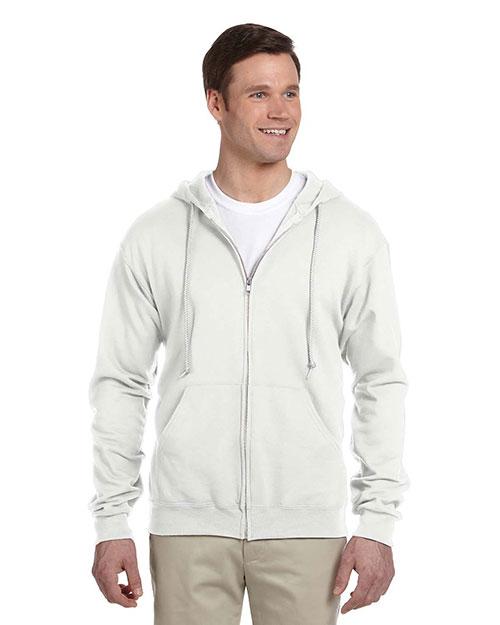 Jerzees 993 Men 8 Oz 50/50 Nublend Fleece Full-Zip Hood at GotApparel