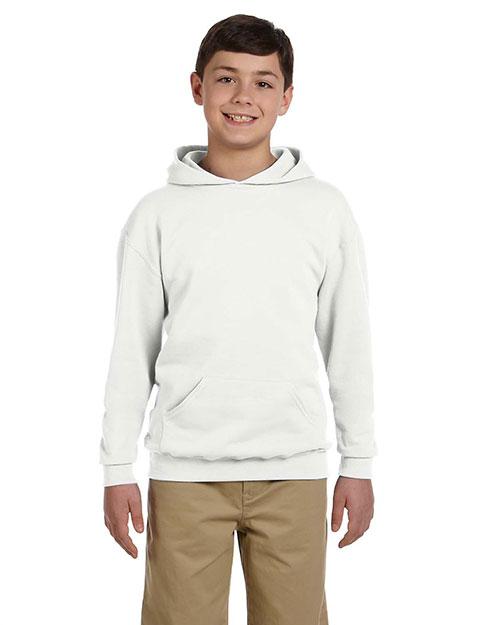Jerzees 996Y Boys 8 Oz. 50/50 Nublend Fleece Pullover Hood at GotApparel