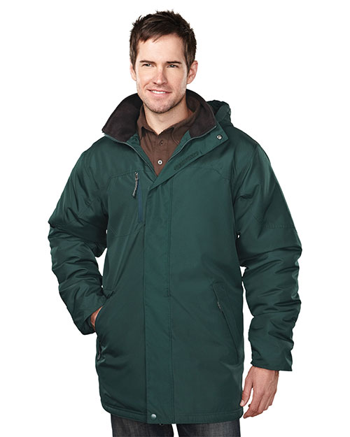 Tri-Mountain 9980 Men Droxford Long-Sleeve Jacket With Water Resistant at GotApparel