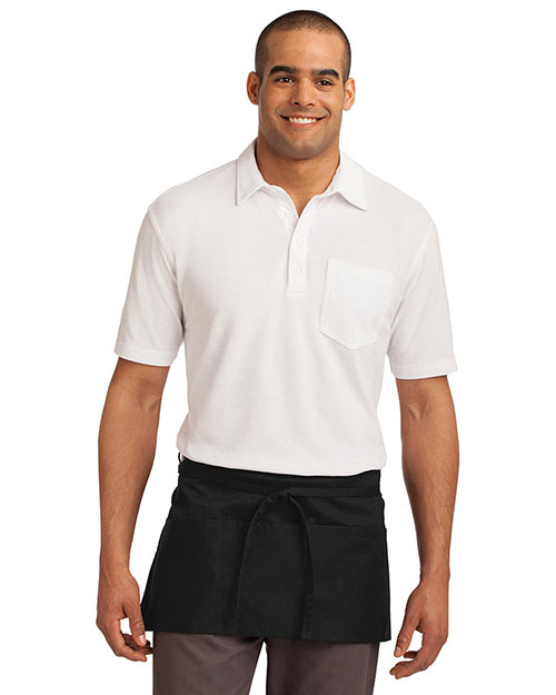 Port Authority A702 Men Easy Care Waist Apron with Stain Release at GotApparel