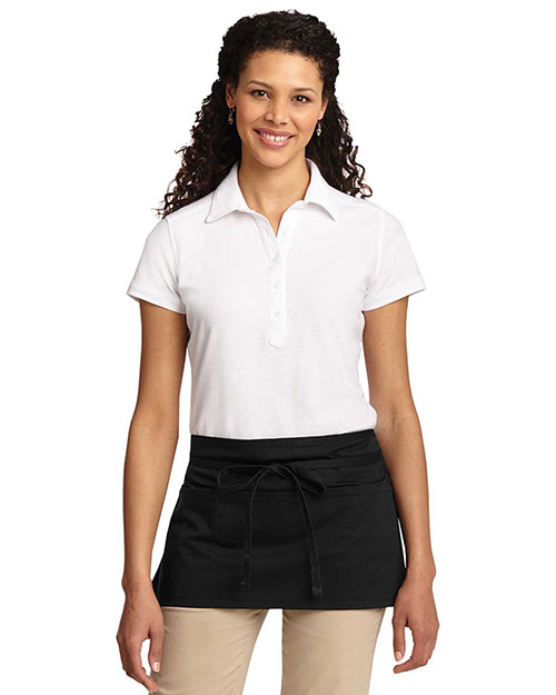 Port Authority A707 Women Easy Care Reversible Waist Apron with Stain Release at GotApparel