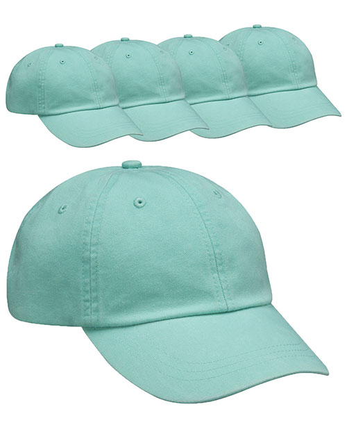 Adams AD969 Unisex Optimum Pigment Dyed-Cap 5-Pack at GotApparel