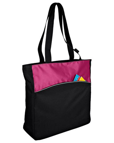 Port & Company B1510 Women Improved Twotone Colorblock Tote at GotApparel