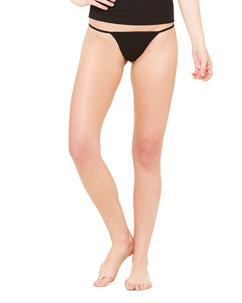 Bella + Canvas B301 Women Cotton/Spandex Thong Bikini at GotApparel