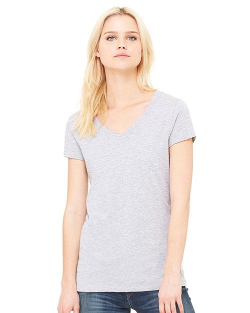 Bella + Canvas B6005 Women Jersey Short-Sleeve V-Neck T-Shirt at GotApparel