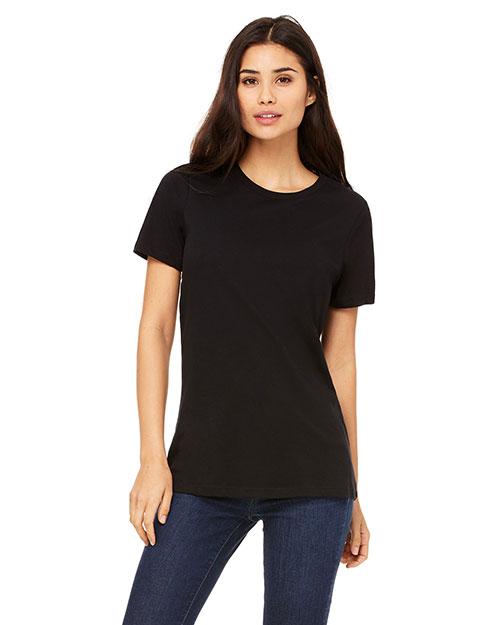 Bella + Canvas B6400 Women Missys Relaxed Jersey Short-Sleeve T-Shirt at GotApparel