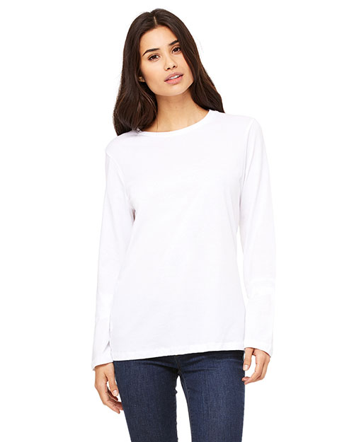 Bella + Canvas B6450 Women Missys Jersey Long-Sleeve T-Shirt at GotApparel