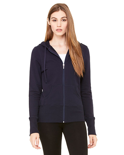 Bella + Canvas B7207 Women Stretch French Terry Lounge Jacket at GotApparel