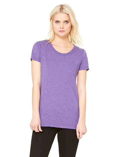 Bella + Canvas B8413 Women Tri-Blend Short-Sleeve T-Shirt at GotApparel