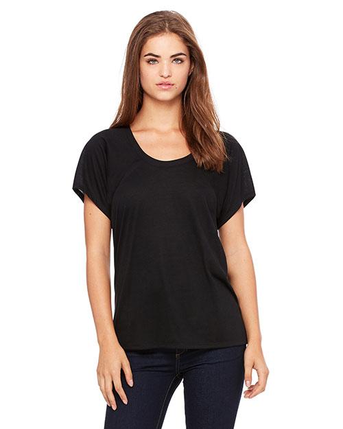 Bella + Canvas B8801 Women Flowy Raglan T-Shirt at GotApparel