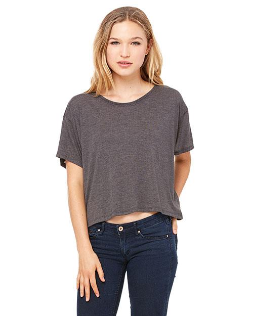 Bella + Canvas B8881 Women Flowy Boxy T-Shirt at GotApparel