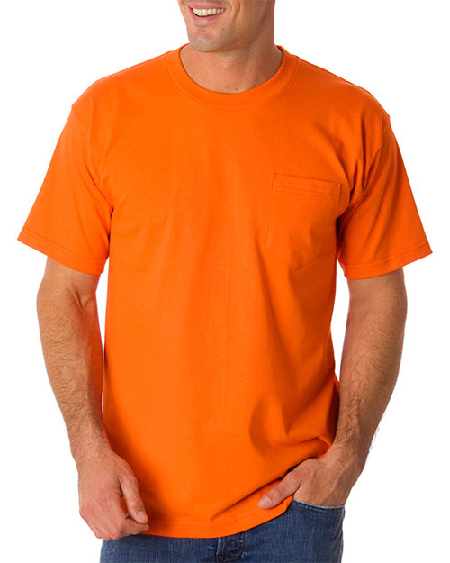 Bayside 1725 Men Pocket Tee at GotApparel