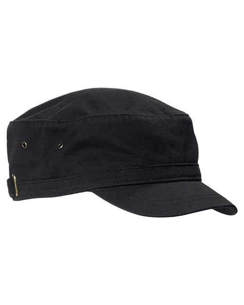 Big Accessories / BAGedge BA501 Unisex Short Bill Cadet Cap at GotApparel