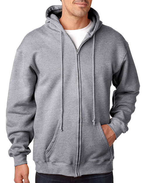 Bayside 900 Men Hooded Fullzip Fleece at GotApparel