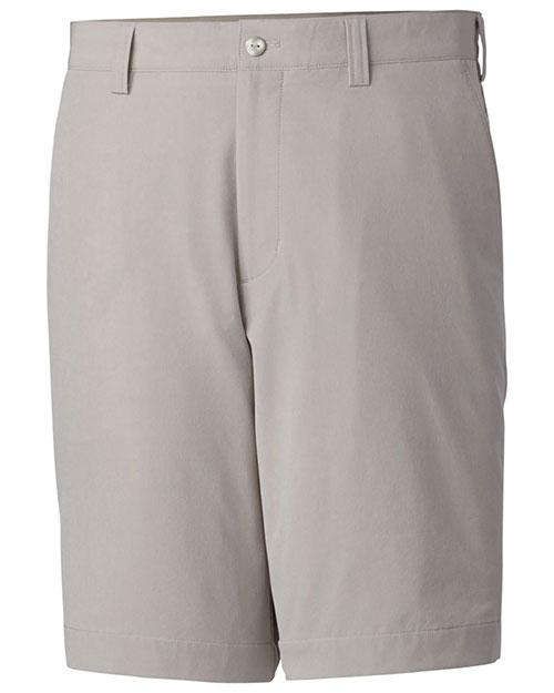 Cutter & Buck BCB00078 Men Big & Tall Drytec Bainbridge Flat Front Short at GotApparel