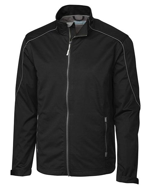 Cutter & Buck BCO00950 Men Big & Tall Weathertec Opening Day Softshell Jacket at GotApparel