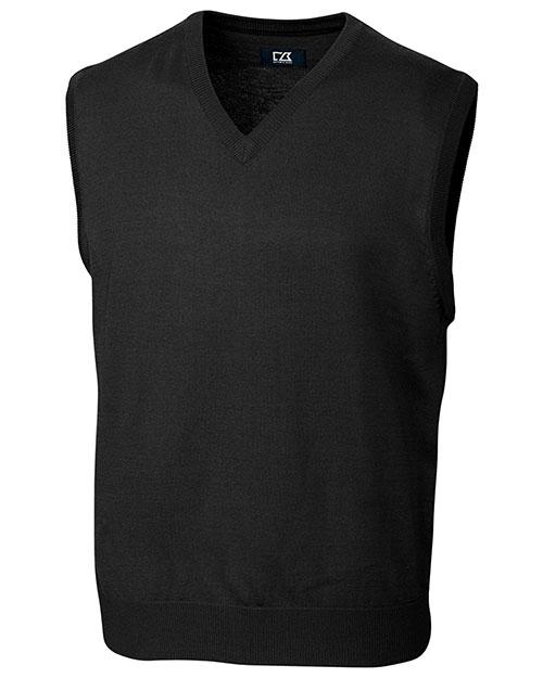 Cutter & Buck BCS01432 Men Douglas V-Neck Vest at GotApparel