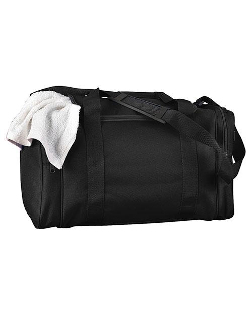 Big Accessories / BAGedge BE014 Unisex Small Nylon Sport Duffel at GotApparel