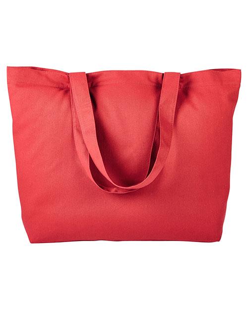 BAGedge BE102 Unisex Cotton Twill Horizontal Shopper at GotApparel