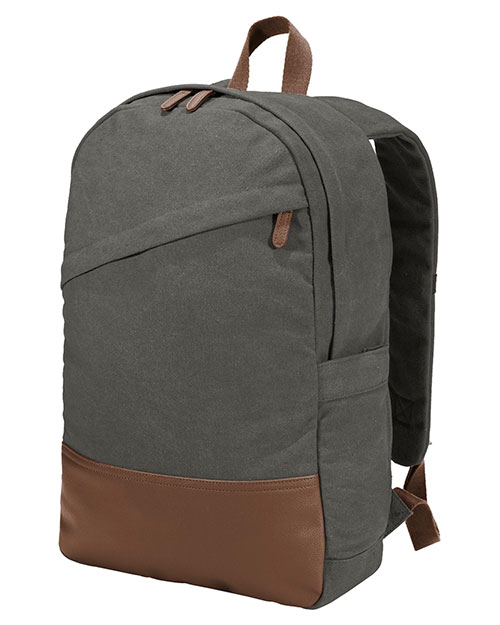 Port Authority BG210 Cotton 16 oz Canvas Backpack at GotApparel