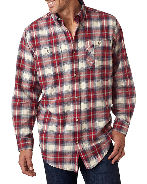 Backpacker BP7001 Men YarnDyed Flannel Shirt at GotApparel
