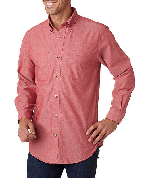 Backpacker BP7004 Men YarnDyed Chambray Woven at GotApparel