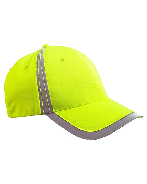 Big Accessories BX023 Unisex Reflective Accent Safety Cap at GotApparel