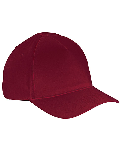 Big Accessories / Bagedge BX034 Men 5-Panel Brushed Twill Cap at GotApparel