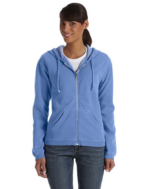Comfort Colors C1598 Women 10 Oz. Garment Dyed Full-Zip Hood at GotApparel