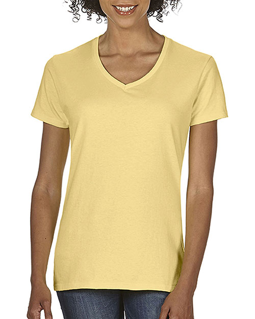 Comfort Colors C3199 Women Midweight RS V-Neck T-Shirt at GotApparel
