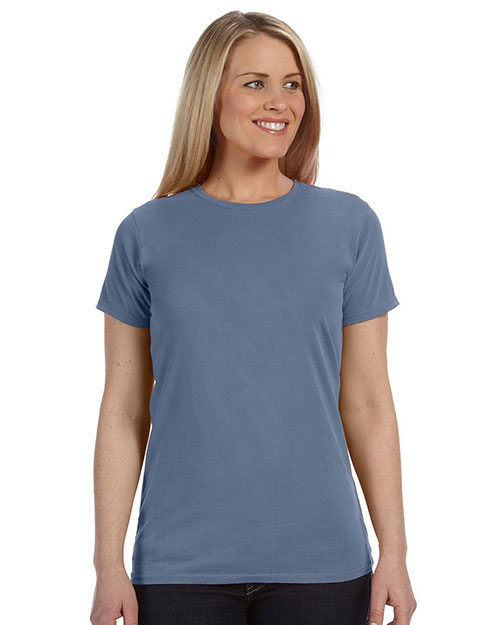 Comfort Colors C4100 Women Ringspun Garment-Dyed T-Shirt at GotApparel