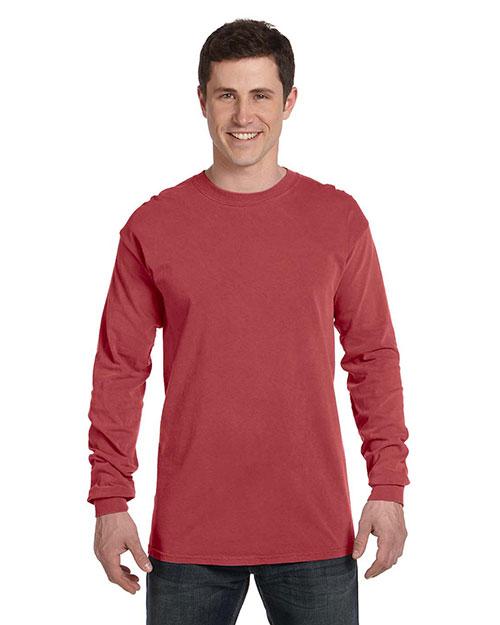 Chouinard 6014 Men Comfort Colors Adult Long-Sleeve Tee at GotApparel