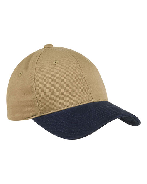 Port Authority C815 Men Two-Tone Brushed Twill Cap at GotApparel