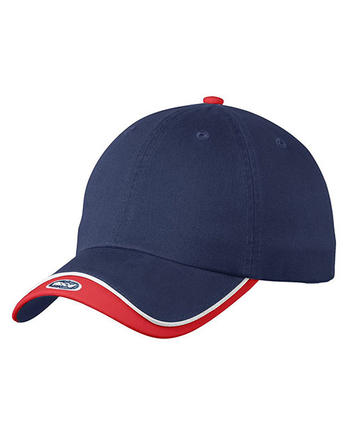 Port Authority C828 Men Double Visor Cap at GotApparel