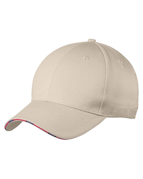 Port Authority C829 Men Americana Flag Sandwich Cap at GotApparel
