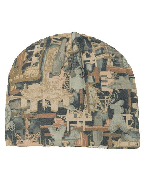 Port Authority C901 Men Camouflage Fleece Beanie at GotApparel