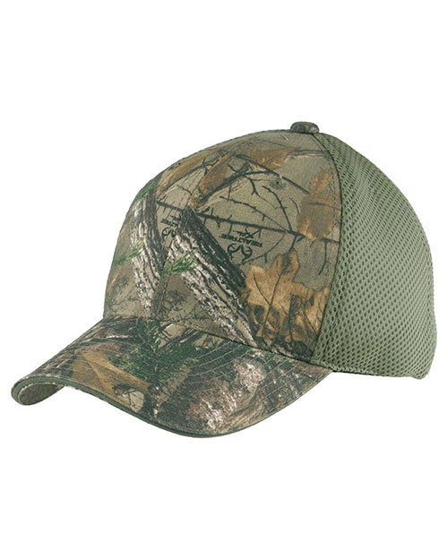 Port Authority C912 Men Camouflage Cap with Air Mesh Back at GotApparel
