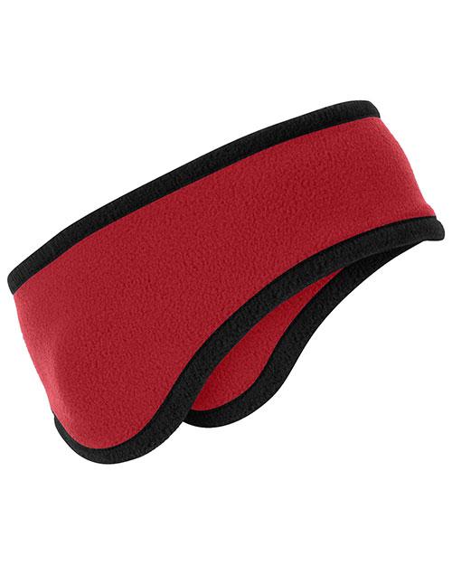 Port Authority C916 Unisex Twocolor Fleece Headband at GotApparel