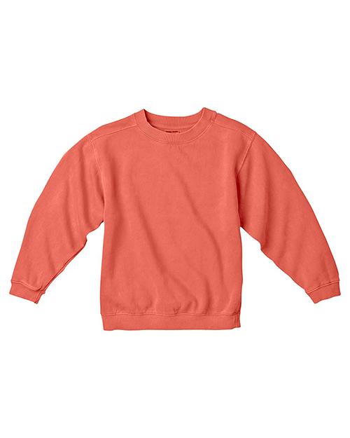 Comfort Colors C9755 Kids 10 oz. GarmentDyed Crew Sweatshirt at GotApparel