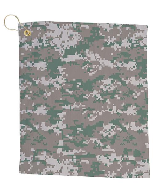Pro Towels CAM18CG Small Camo Golf Towel at GotApparel