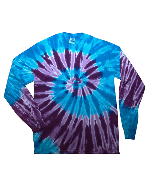 Tie-Dye CD2000Y CD LONG SLEEVE TIE DYE TEE at GotApparel