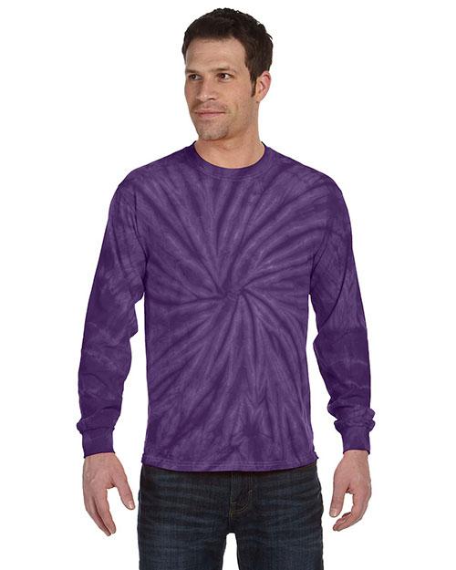 Tie-Dye CD2000 Men 5.4 Oz. 100% Cotton Long-Sleeve T-Shirt at GotApparel