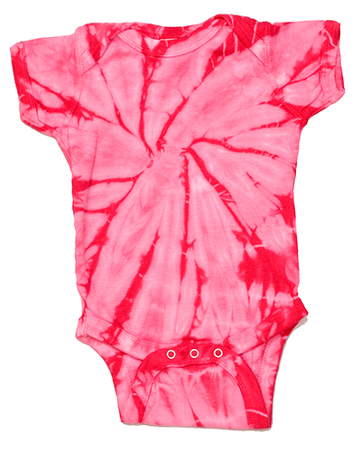 Tie-Dye CD5100 CD infants CREEPER at GotApparel
