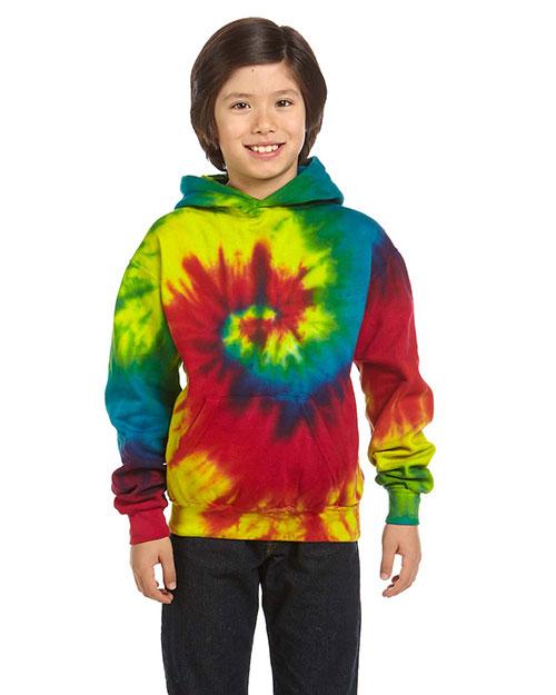 Tie-Dye CD877Y Boys 8.5 oz. d Pullover Hood at GotApparel