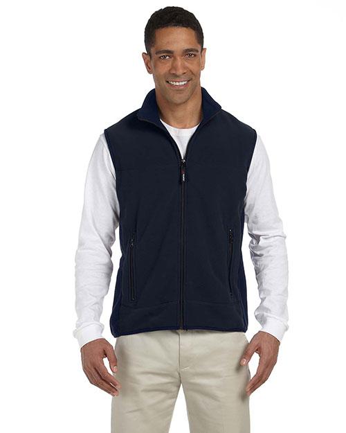 Chestnut Hill CH960 Men Polartec Colorblock Full-Zip Vest at GotApparel