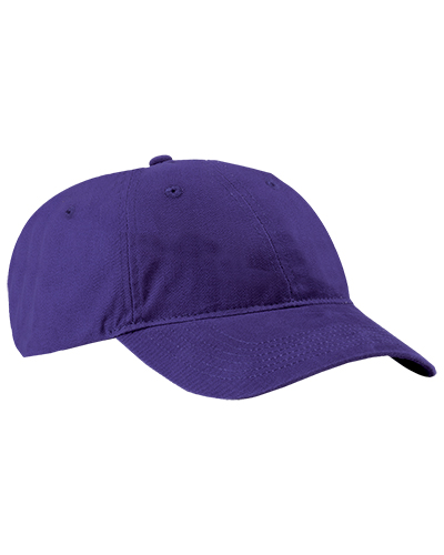 Port Authority CP77 Men - Brushed Twill Low Profile Cap at GotApparel