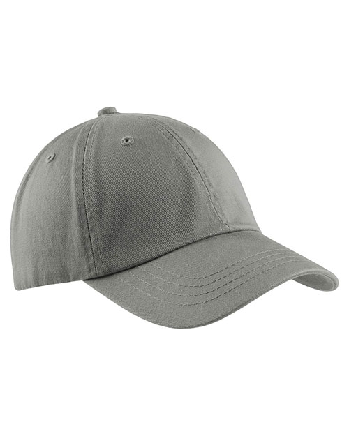 Port & Company CP78 Men Washed Twill Cap at GotApparel
