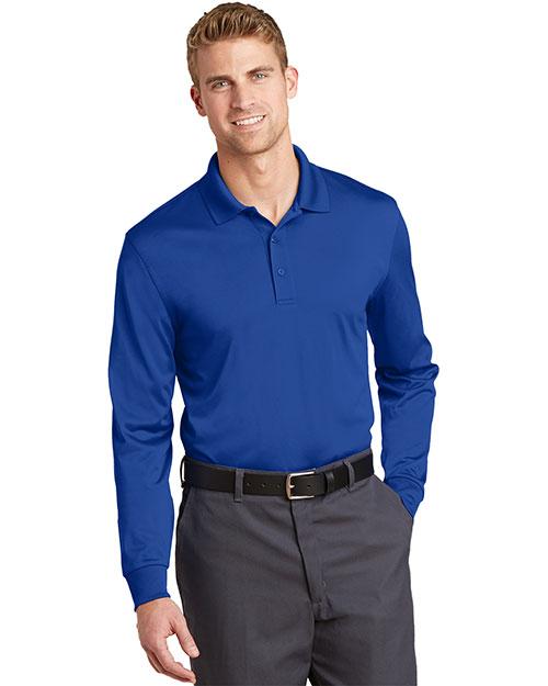 Cornerstone CS412LS Men Select Snag-Proof Long-Sleeve Polo at GotApparel